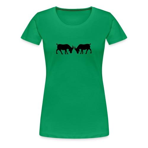 Ziegenfest - Frauen Premium T-Shirt