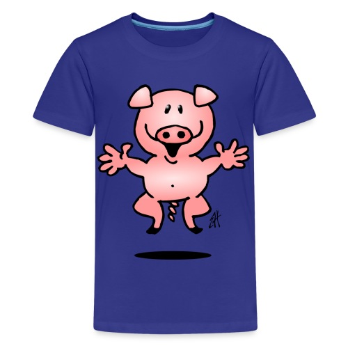 Pig - Teenage Premium T-Shirt