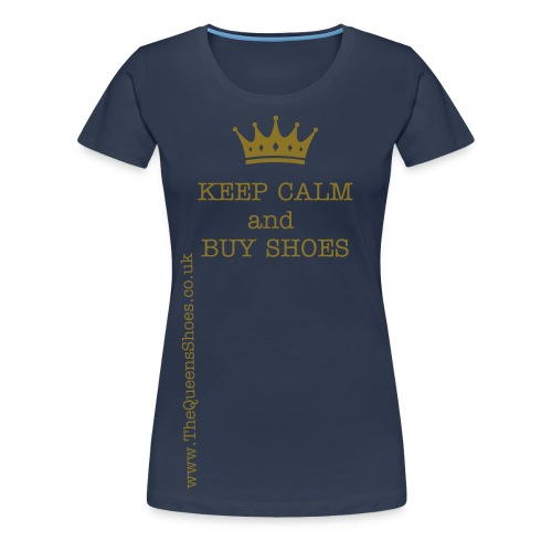 The Queens Shoes - Women's Premium T-Shirt