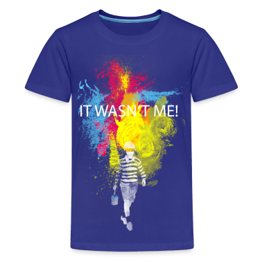 it wasn't me! Kids' Shirts