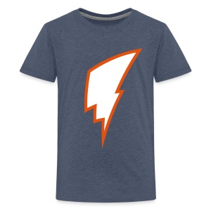 Lightning Bolt - Kid's Shirt - Teenage Premium T-Shirt