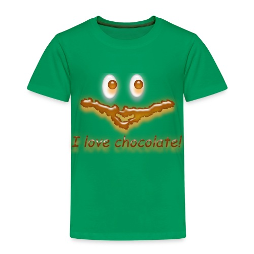 I love chocolate! - Kinder Premium T-Shirt