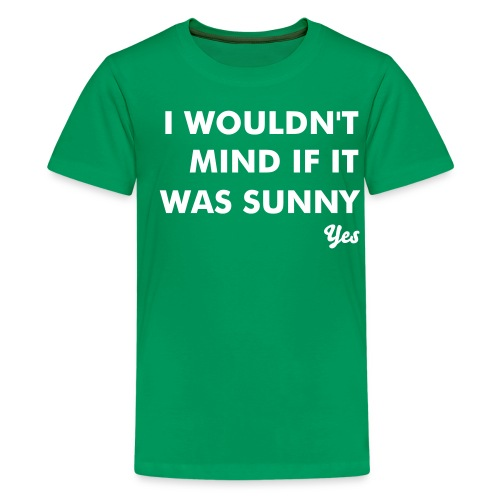 kids sunny tee - Teenage Premium T-Shirt