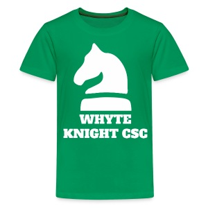 Whyte Knight CSC - Teenage Premium T-Shirt