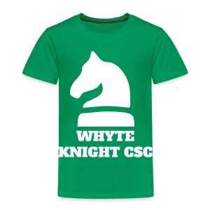 Whyte Knight CSC - Kids' Premium T-Shirt