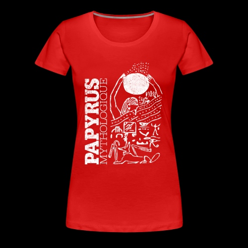 Papyrus Mythologique (white) - Premium-T-shirt dam