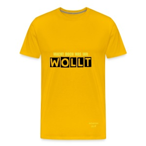 Wowoxx Stoff by Wolang - Männer Premium T-Shirt