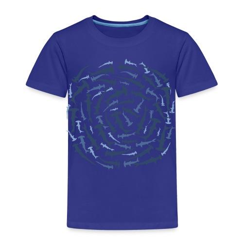 tiershirt hammerhaie hammerhai hai shark tauchen taucher dive diver hammer nageln ozean fisch fish whale - Kinder Premium T-Shirt