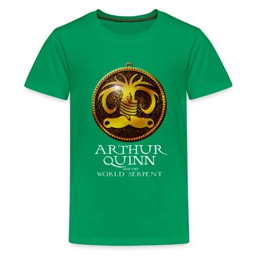 Logo Childs Green - Teenage Premium T-Shirt