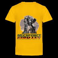 T-Shirts ~ Teenager Premium T-Shirt ~ Kinder Logo Hinten