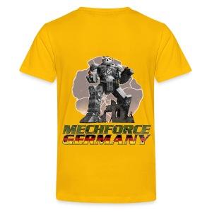 Kinder Logo Hinten - Teenager Premium T-Shirt