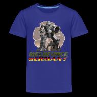 T-Shirts ~ Teenager Premium T-Shirt ~ Kinder Logo Vorne