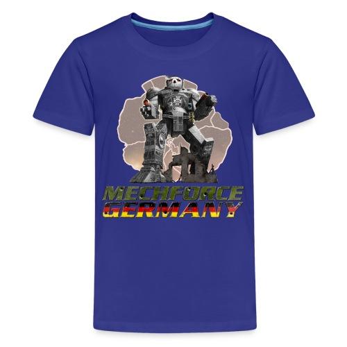 Kinder Logo Vorne - Teenager Premium T-Shirt