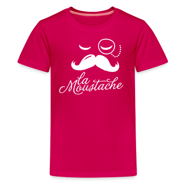 La Moustache Typography Kids' Shirts