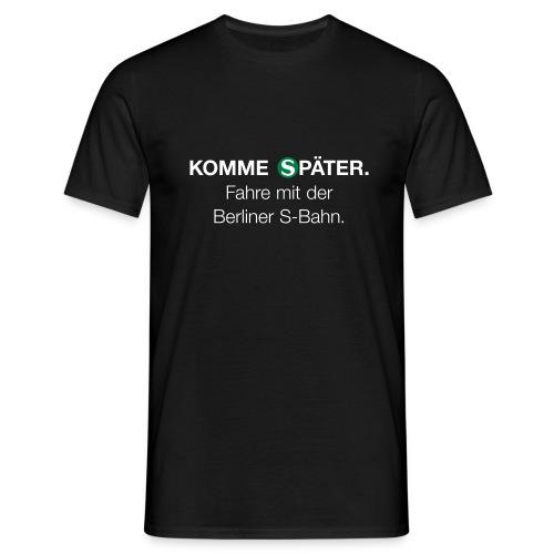 Berliner S-Bahn-Shirt (Men) - Männer T-Shirt
