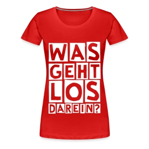 SONDERAKTION DAMEN T-SHIRT - Frauen Premium T-Shirt