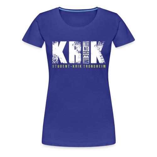 Damer - Premium T-skjorte for kvinner