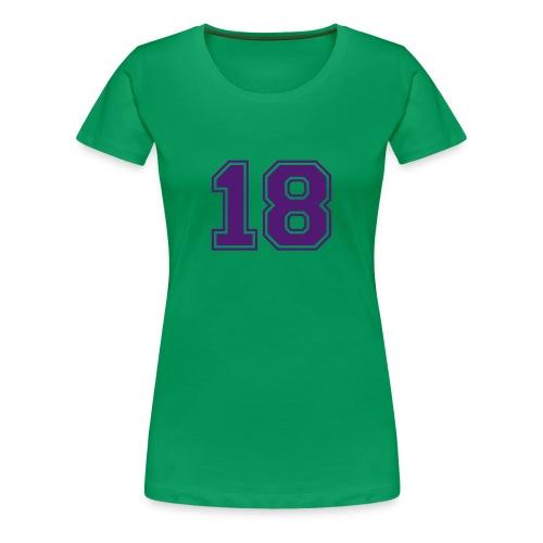 ANNIVERSAIRE IZIA - T-shirt Premium Femme