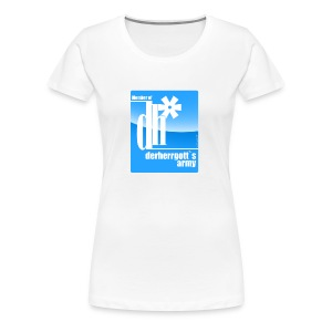 Frauen Premium T-Shirt - -follower,@derherrgott,Twitter,buddy,cool,derherrgott,fan,fanwear,follower,markus g. sänger,musthave,shirt,streetwear,t-shirt,trend,wear