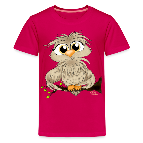 TeenShirt Käuzchen Hugo - Teenager Premium T-Shirt