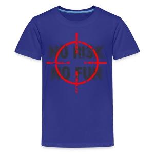 T-shirt no risk no fun - Teenager Premium T-shirt