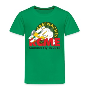 RCME Greenacres 2012 Classic Kid's T-Shirt - Kelly Green - Kids' Premium T-Shirt