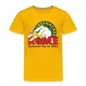 RCME Greenacres 2012 Classic Kid's T-Shirt - Yellow - Kids' Premium T-Shirt