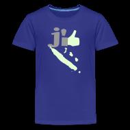 Tee shirts ~ T-shirt Premium Ado ~ J'aime la Nouvelle Calédonie