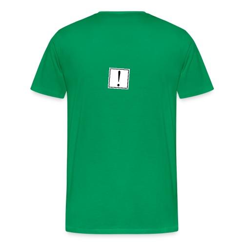 Sein oder nicht sein Digger das ist hier die Frage Alder (Shakespeare) - Männer Premium T-Shirt