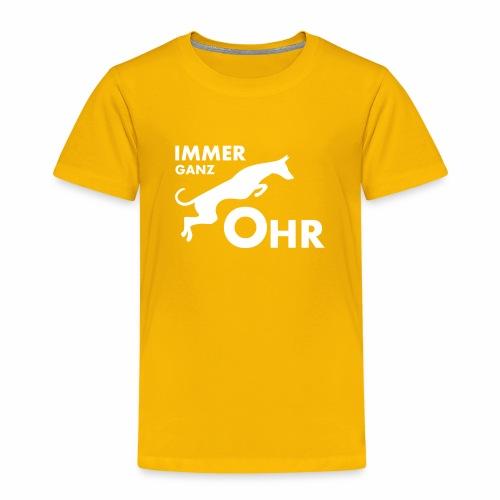 Podenco - Immer ganz Ohr 2 - Kinder Premium T-Shirt