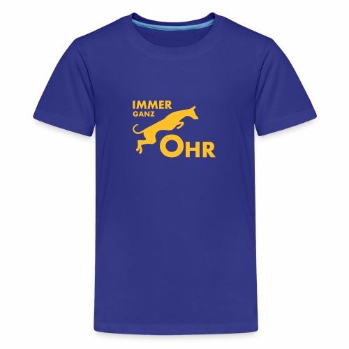 Podenco - Immer ganz Ohr 2 - Teenager Premium T-Shirt