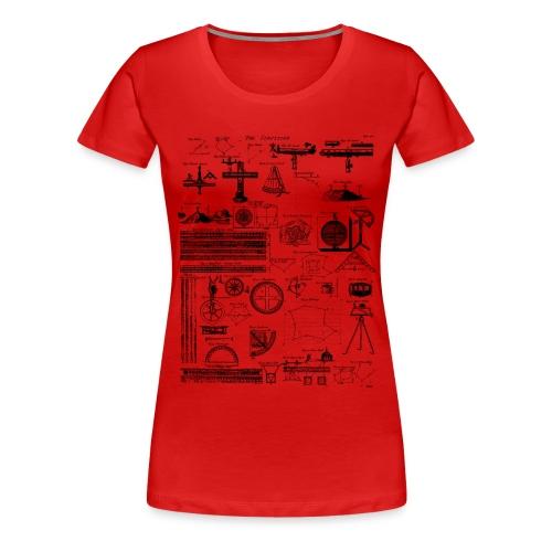 Table of Surveying - Women's Premium T-Shirt