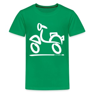 Vespa - Kinder Shirt - Teenager Premium T-Shirt