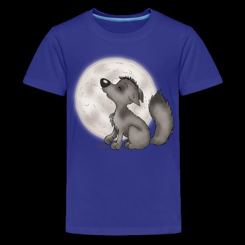 TeenieShirt Wölfchen - Teenager Premium T-Shirt