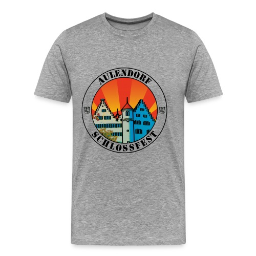 Schlossfest Shirt schwarz - Männer Premium T-Shirt