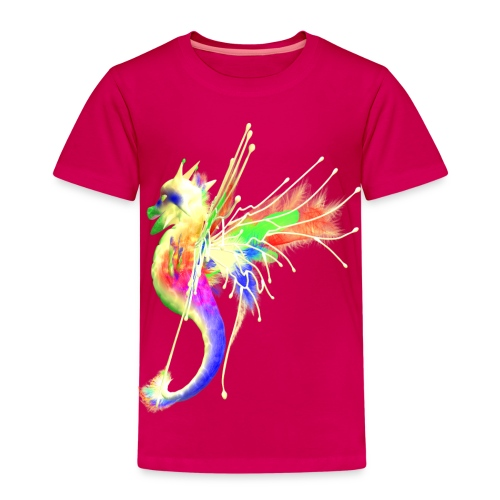Colorful Dragon - Kinder Premium T-Shirt