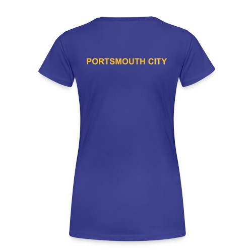 WOMEN'S - Deluxe Portsmouth City Team Polo Shirt. - Women's Premium T-Shirt