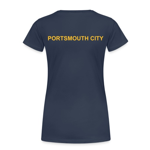 WOMEN'S PLUS SIZE- Deluxe Portsmouth City Team Polo Shirt. - Women's Premium T-Shirt