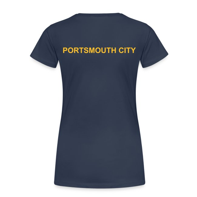 WOMEN'S PLUS SIZE- Deluxe Portsmouth City Team Polo Shirt.