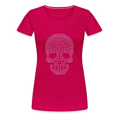 Tee-shirt Woman Lavande Skull by Arty Paris - T-shirt Premium Femme
