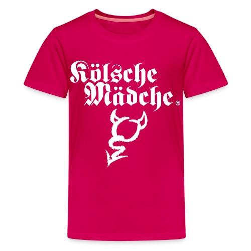Kölsche Mädche Devil - Teenager Premium T-Shirt