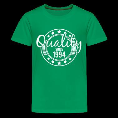 Birthday - Quality since 1994 (uk) Kids' Shirts