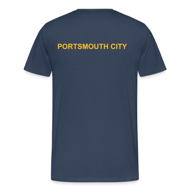 MENS BIG & TALL - Deluxe Portsmouth City Team Polo Shirt.