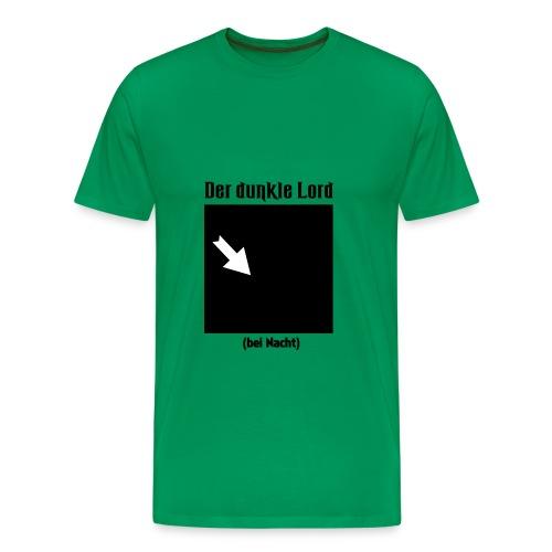 Der dunkle Lord - Männer Premium T-Shirt