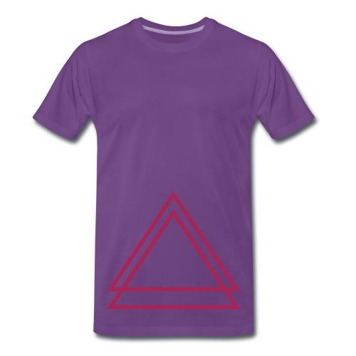 KulturSchock - Dreieckskollektion - Männer Premium T-Shirt