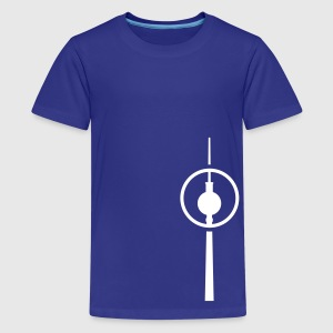 berlin fernsehturm kreis Kinder T-Shirts - Teenager Premium T-Shirt