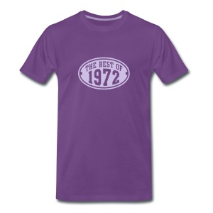 THE BEST OF 1972 - Birthday Geburtstag T-Shirt LF - Mannen Premium T-shirt