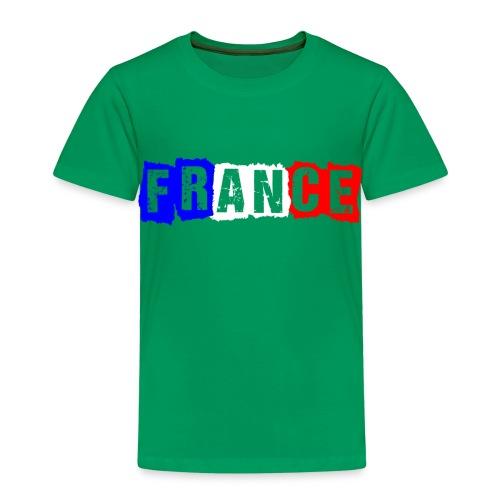 T-shirt Enfant - France tricolore Age - T-shirt Premium Enfant