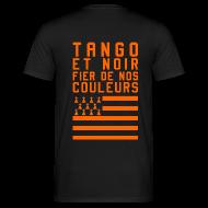 Tee shirts ~ Tee shirt Homme ~ Tee Shirt Tango et Noir