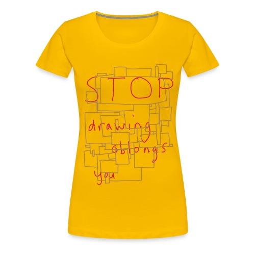 Stop Censoring 'Bastard' - Women's Premium T-Shirt